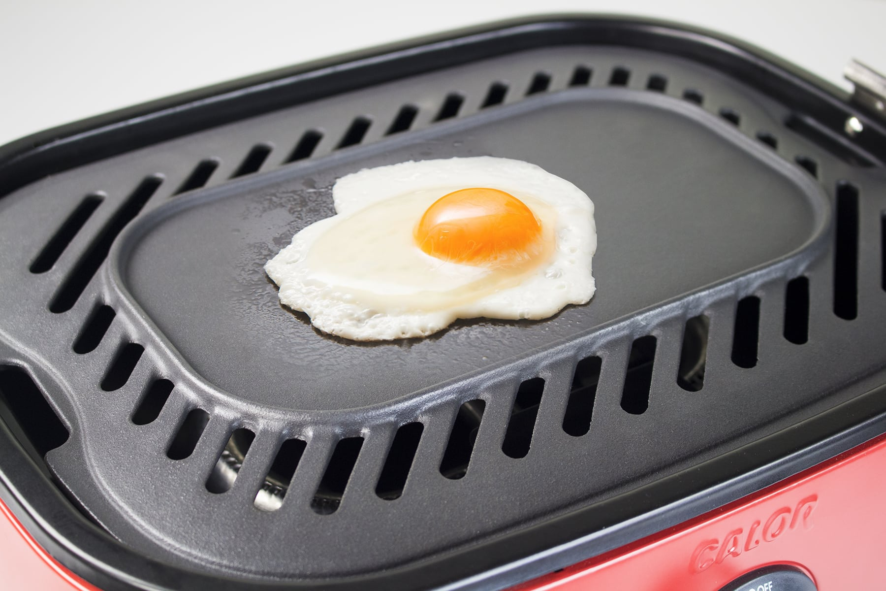 Mini BBQ Egg Frying