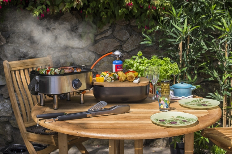 Mini BBQ_Stainless Steel_lifestyle