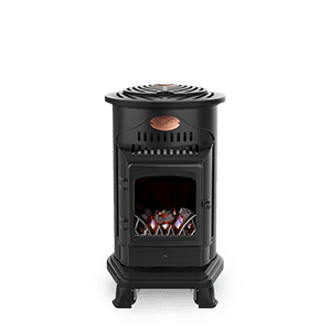 Sahara Provence Portable Gas Fire Provides the Best Portable Indoor Heating System