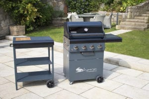Side Car Detached for Sahara X475 Barbecue
