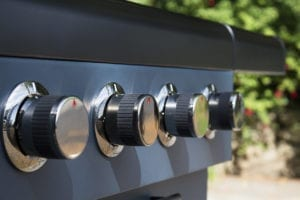 Sahara X450 Gas Barbecue Features 4 Burners Plus a Side_Burner