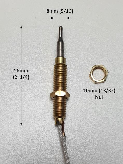 Wide Thread Thermocouple for Patio Gas Heater