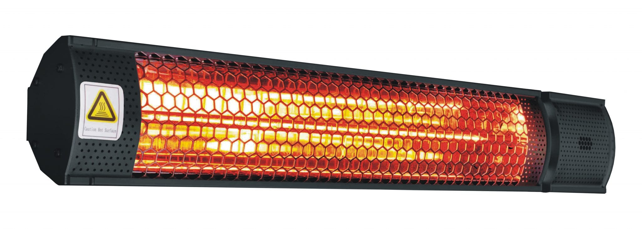 2000W Halogen Wall Mounted Heater_angled